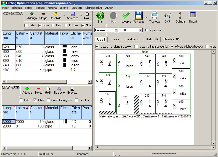 cutting optimization pro screenshot